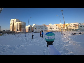 Волейбол от первого лица | SNOW VOLLEYBALL FIRST PERSON | BEST MOMENTS | 2020 | 40 episode