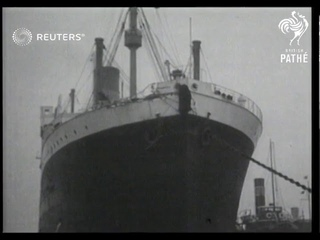 SS Andania in collision in the Thames (1937)