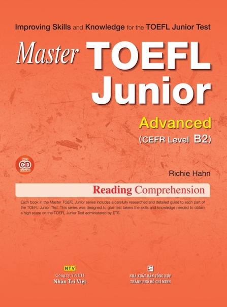 hahn richie master toefl junior advanced b2 reading comprehe