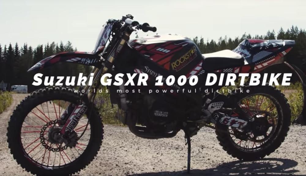 Внедорожный кастом Suzuki GSX-R1000
