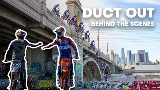 Behind the Scenes Vlog   Robbie Maddison and Tyler Bereman's LA Freeride   Duct Out