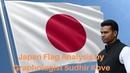 Japan Flag Analysis by Graphologist Sudhir Kove