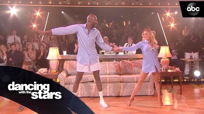Lamar Odom's Cha Cha Dancing with the Stars