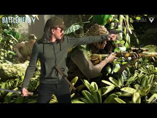 Battlefield V - Japanese Gun Jesus Elite skin gameplay