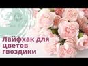 Секреты флористики. Лайфхак для цветов гвоздики. Цветы в букете. Попробуйте этот Простой способ