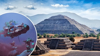 Did Machines Originally Build This Pyramid...Incredible New Discoveries in Mexico