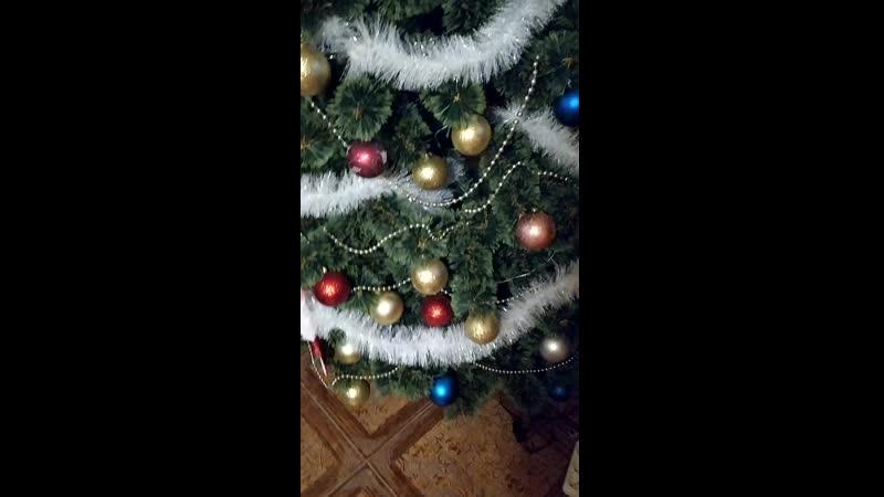 Тишенька и новогодняя елка