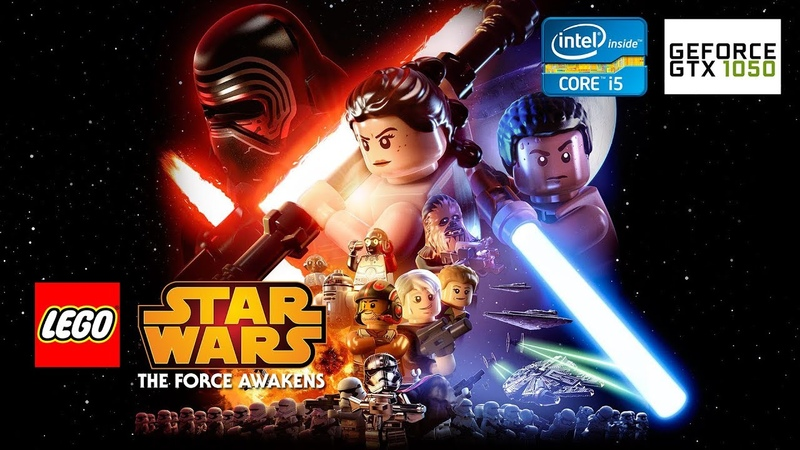 LEGO STAR WARS: The Force Awakens [PC] - GTX 1050Ti 4GB i5-2310 12GB RAM