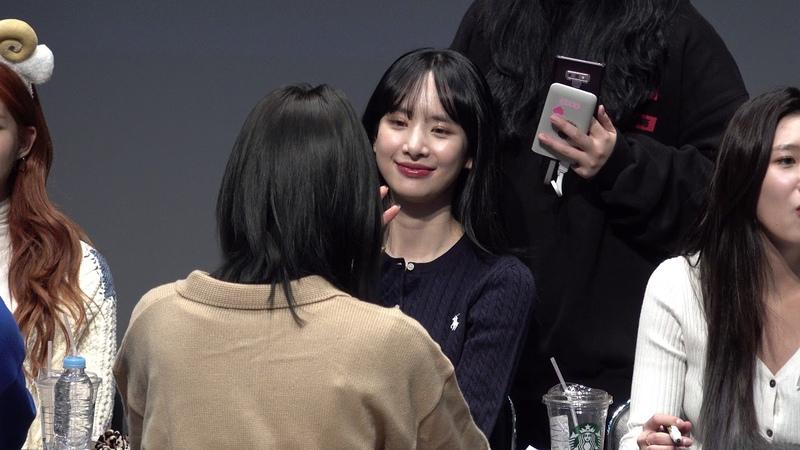[Fancam] 191208 S-Plex Center Fansign @ Seola