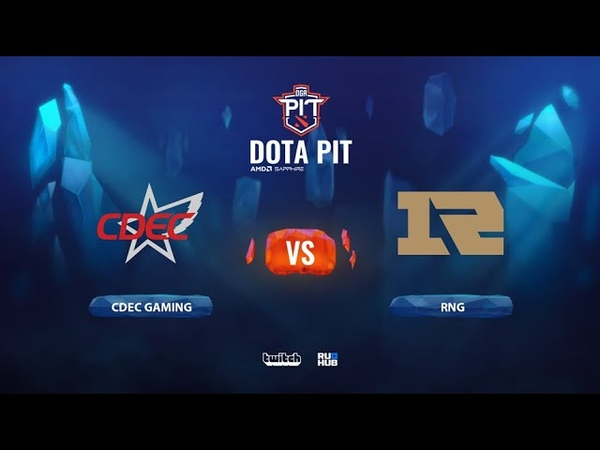 CDEC Gaming vs Royal Never Give Up OGA Dota PIT Season 2 China bo3 game 1 JAM Smile