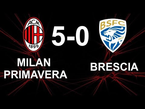 Milan Primavera 5 0 Brescia Highlights