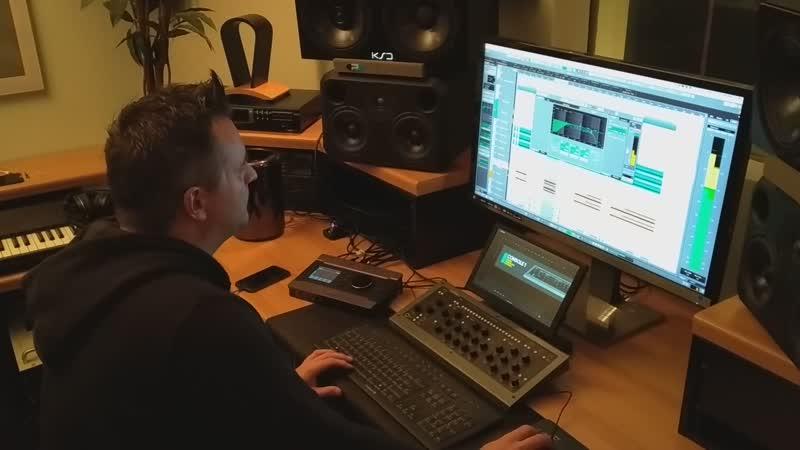 SCHWARZER ENGEL Albumrecordings Sieben im Studio
