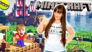 Майнкрафт СВОЯ ДЕРЕВНЯ #3 ГОЛОДНЫЕ ЖИТЕЛИ В Minecraft