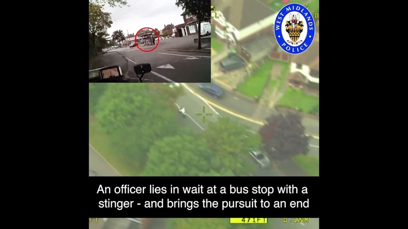 Watch as we seize illegally ridden bike after 80mph pursuit