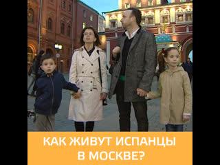Как живёт испанская диаспора в Москве - УтроМ24
