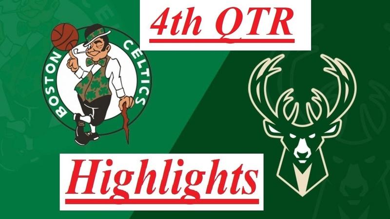 Milwaukee Bucks vs. Boston Celtics Highlights 4th QTR (Final) | NBA Restart 7312020