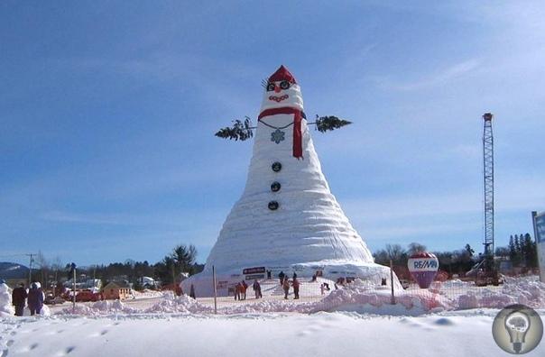 «Снежная дура»: история снеговика
