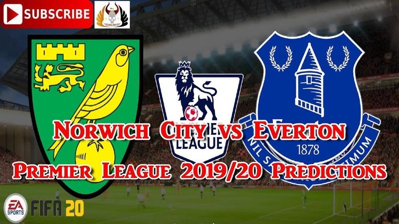 Norwich City vs Everton 2019 20 Premier League Predictions FIFA 20
