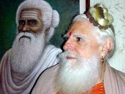 Гурудев и его учитель Шива Йогасвами