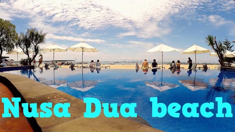 Переезд из Убуда на Нуса Дуа Nusa Dua beach