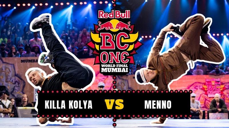 B-Boy Killa Kolya vs B-Boy Menno   Final   Red Bull BC One World Final Mumbai 2019