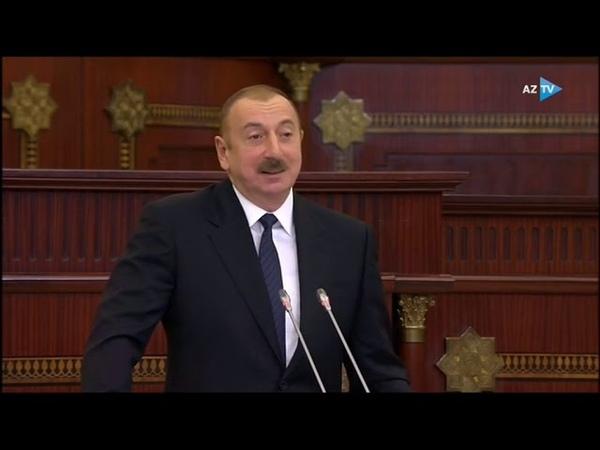 """Ölkə başçısı """"Bilirəm ki, Ermənistanda indi bu müqaviləni əzbərləyirlər"""""""