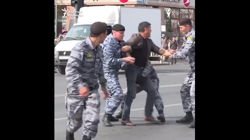 Қыркүйектің 21-і күні Қазақстанның бірнеше қаласында болмай қалған митингі алдында полиция ондаған азаматты ұстады.
