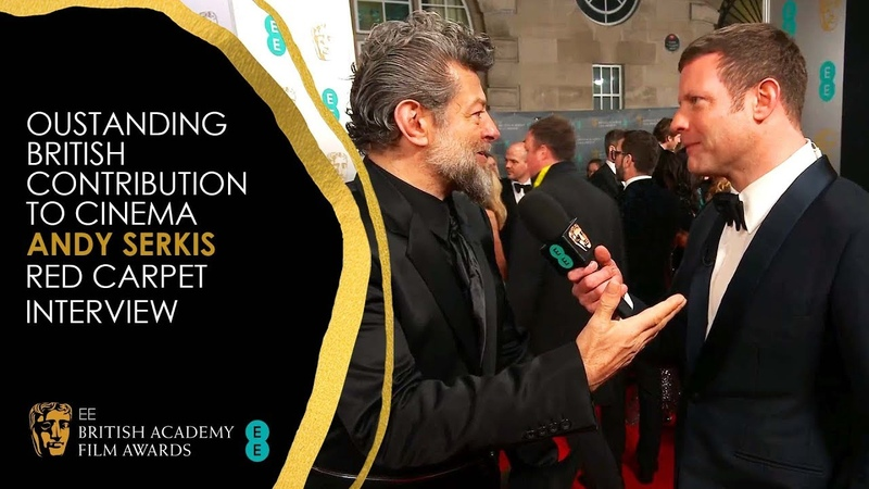 Andy Serkis on His Outstanding British Contribution to Cinema Award | EE BAFTA Film Awards 2020