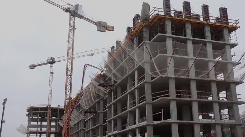 «СтройТехМеханизация» — эксклюзивный поставщик бетона для новостройки на Красных Зорях