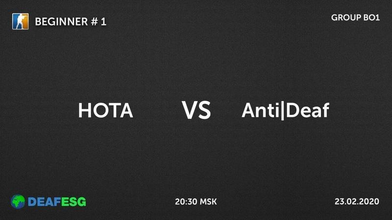 HOTA VS Anti Deaf