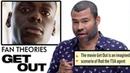 Jordan Peele Breaks Down Get Out Fan Theories from Reddit | Vanity Fair