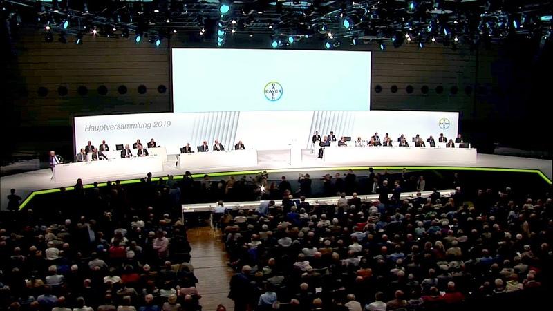 26.04.2019 - Hauptversammlung 2019 - Bayer AG MonsantoGlyphosatu.a.