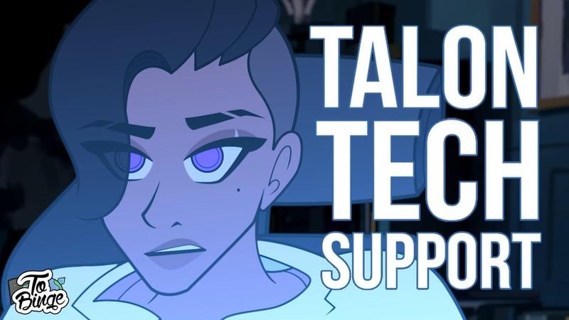 Talon Tech Support Overwatch Animated