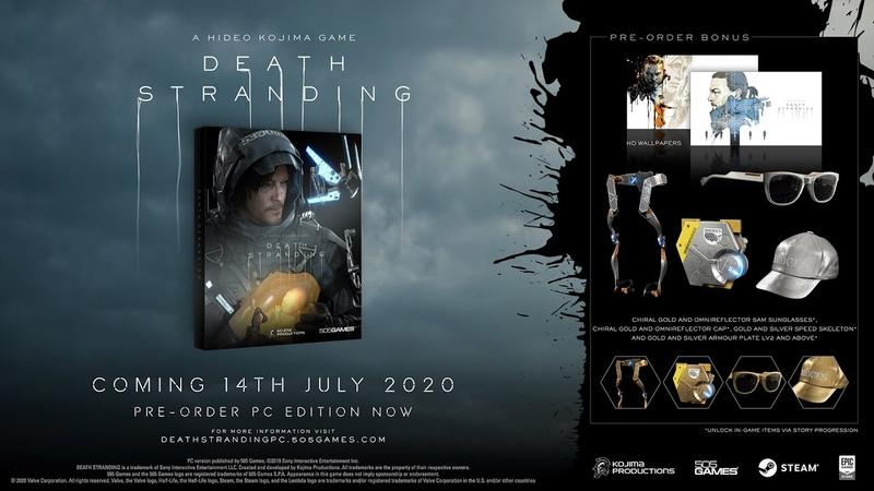 DEATH STRANDING - PC Release Date Trailer