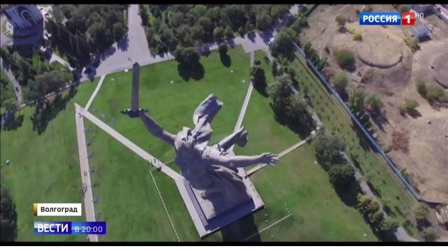 Вести в 20:00 • Символ народной победы: как реставрируют Родину-мать