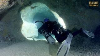 Exploring Ocean Caves in Exuma   JONATHAN BIRD'S BLUE WORLD