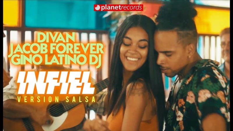 DIVAN ❌ JACOB FOREVER ❌ GINO LATINO DJ - Infiel (Salsa Version) LYRIC VIDEO DeFlores Challenge