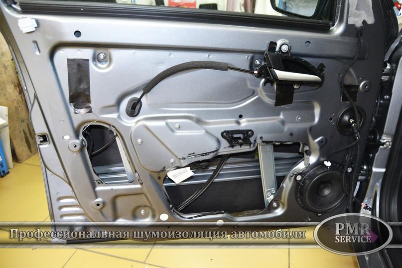 Шумоизоляция Lada Vesta, изображение №10