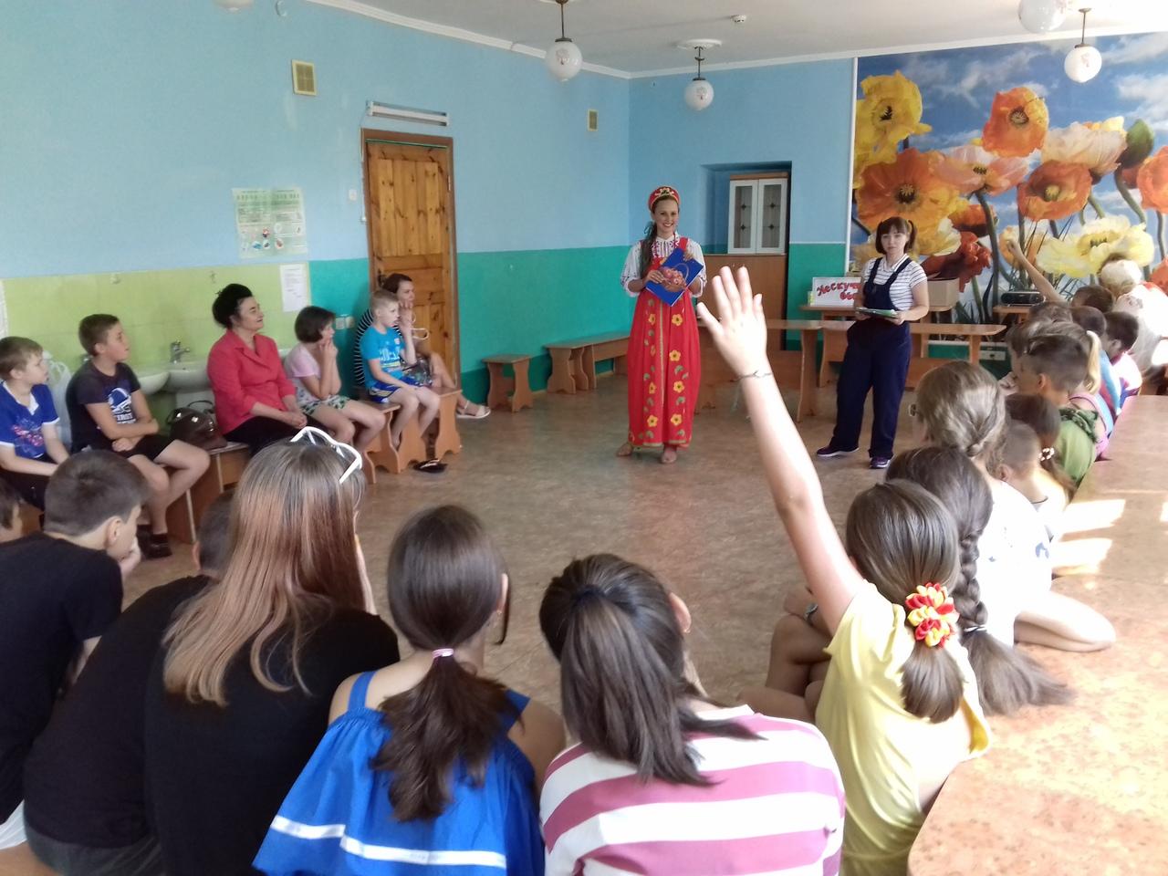 сектор организации досуга для детей, Донецкая республиканская библиотека для детей, лето с библиотекой, нескучный выходной
