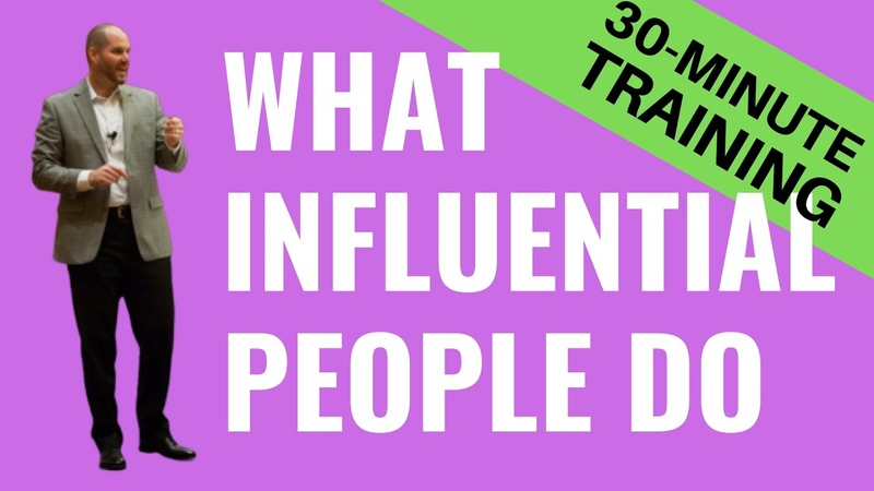 7 Qualities of an Influential Person 30 Minute Version