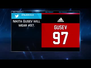 Nhl tonight gusev to devils jul 29, 2019