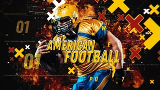 American Football After Effects Template