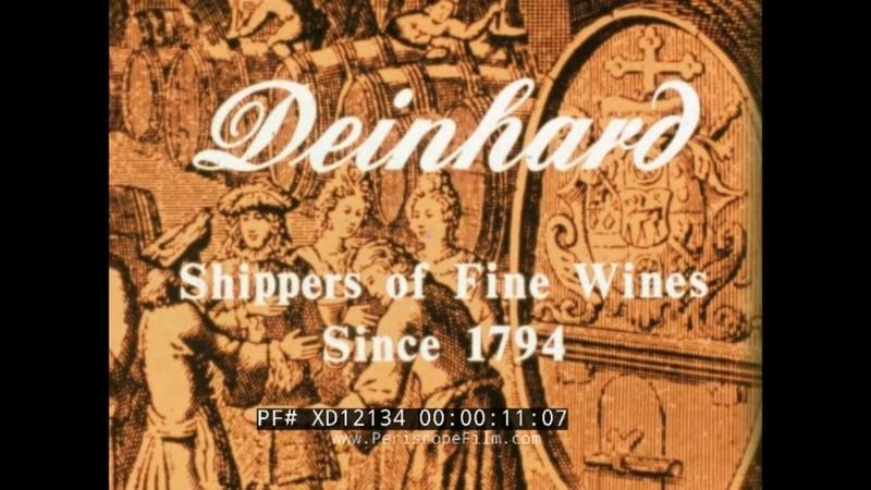 1972 PROMO FILM FOR DEINHARD WINE KOBLENZ GERMANY WINEMAKING REISLING XD12134