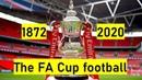 The FA Cup football. 1872-2020. Win statistics. Chart race