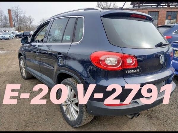 Авто из США VOLKSWAGEN TIGUAN 2011 Аукцион Copart