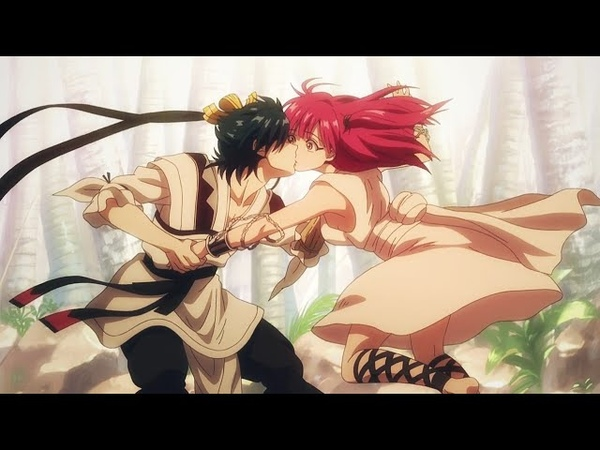 Morgiana x Hakuryuu「 A M V 」Magi The Kingdom of Magicᴴᴰ || Морджана х Хакурю