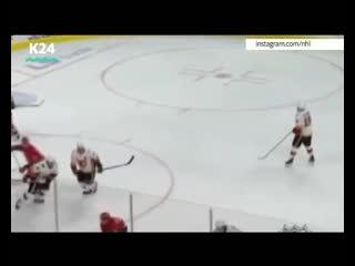 Хоккеист из Барнаула забил невероятный в истории НХЛ гол