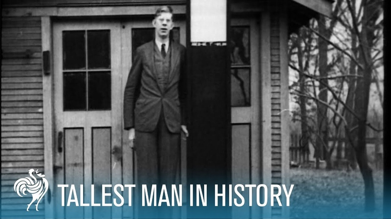 The World's Tallest Man: Robert Wadlow 8'11 aka the Alton Giant (1936) | British Pathé