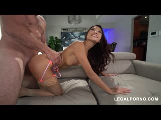 We're back with a small horny girl who can take her fist in her Hole! Vina Sky does not disappoint