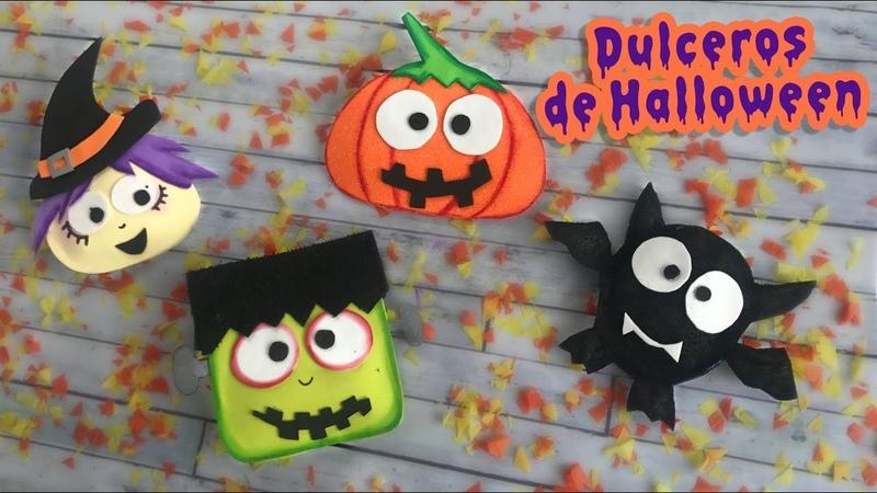 Dulceros súper tiernos de Halloween :: Chuladas Creativas 🎃 Halloween DIY